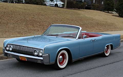نمونه آزمایشی مدیریتی لینکلن کانتیننتال مدل 1962