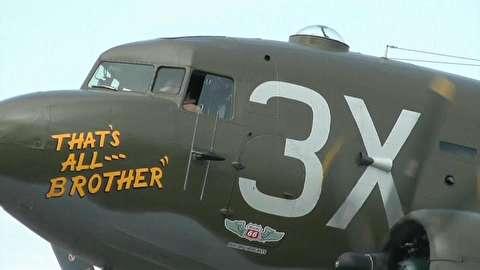 پرواز دوباره هواپیمای آغازگر جنگ جهانی دوم
