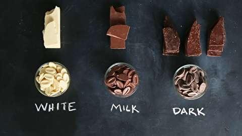 از کدام شکلات برای چه غذایی باید استفاده کرد؟