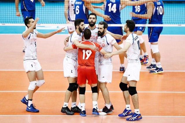 لیگ ملتهای والیبال؛ ایران ۳-۱ ایتالیا / شکست طلسم ۷ساله درگام اول