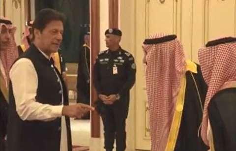 بیاعتنایی نخستوزیر پاکستان به پادشاه عربستان
