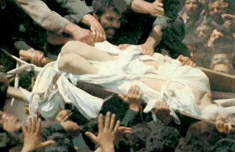 مراسم تشییع امام خمینی و حواشی آن