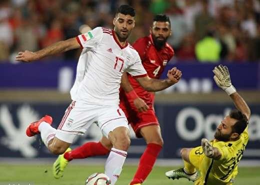 ایران ۵ - سوریه صفر / عیدی تیم ویلموتس با گلباران گربهسیاه کیروش، هتتریک طارمی و رکوردشکنی الهیار