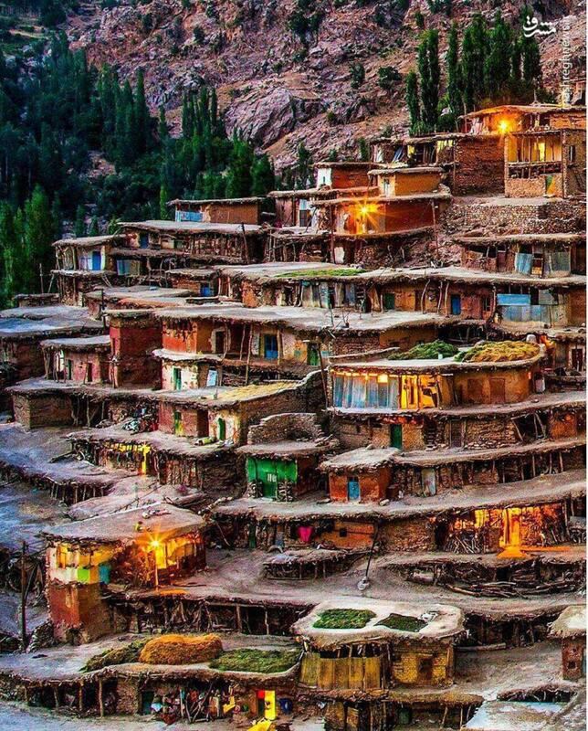 روستایی شگفتانگیز در کوهرنگ