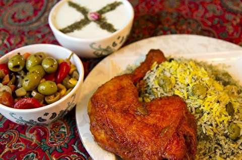طرز تهیه خورش مرغ باقالی پلو با مرغ