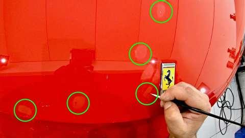 روش صحیح لکهگیری رنگ خودرو