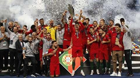 گزیده بازی تیمهای فوتبال پرتغال - هلند