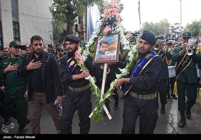 مدافع حرمی که به دست داعش تکهتکه شد