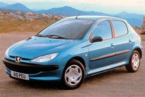 نقد و بررسی پژو 206 مدل 1998