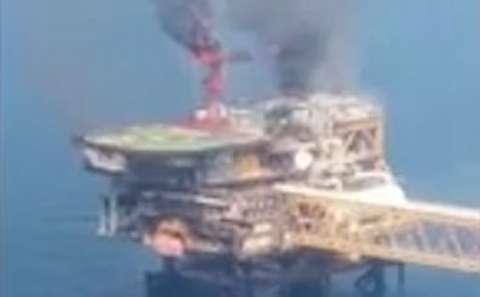 آتشسوزی سکوی 9 پارس جنوبی