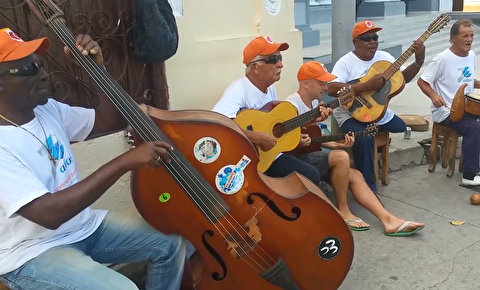 اجرای اتاق تولا در خیابانهای هاوانا
