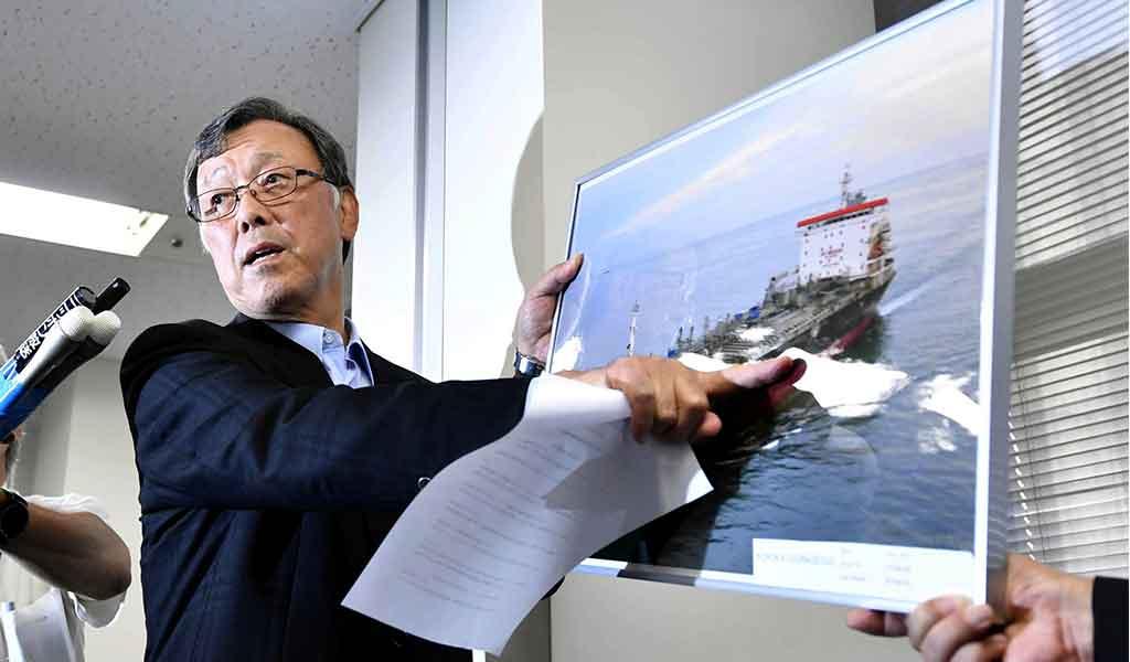 دم خروس آمریکاییها از زبان کاپیتان / حمله آمریکا با پهپاد به تانکر ژاپنی؟!