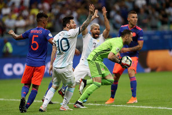 کلمبیا ۲ - آرژانتین صفر؛ انتقام سنگین کی روش از مسی