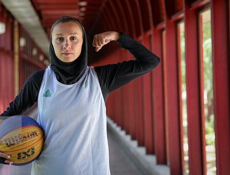 دختران بسکتبال ایران بدون امکانات در راه جام جهانی