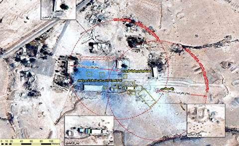 حمله ایران به داعش در سوریه