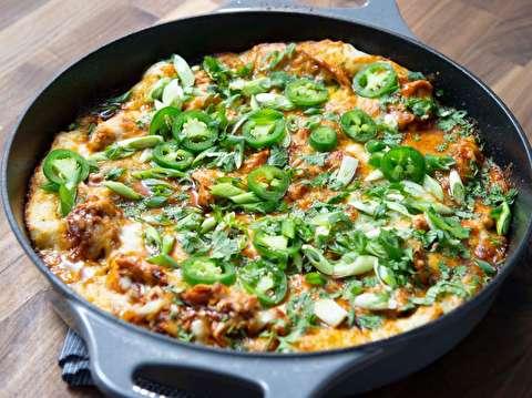 طرز تهیه پیتزای تابهای