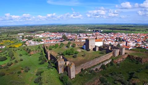 قلعه مورائو از نمای نزدیک