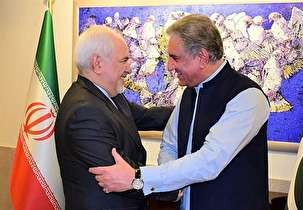 What was on the agenda of Zarif's recent visit to Pakistan?