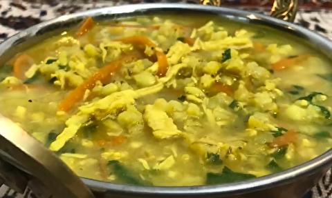 دستور پخت سوپ جو زرد