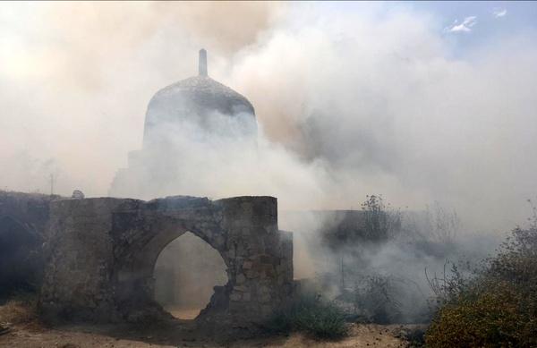آتشسوزی بلادشاپور دهدشت عمدی بوده است