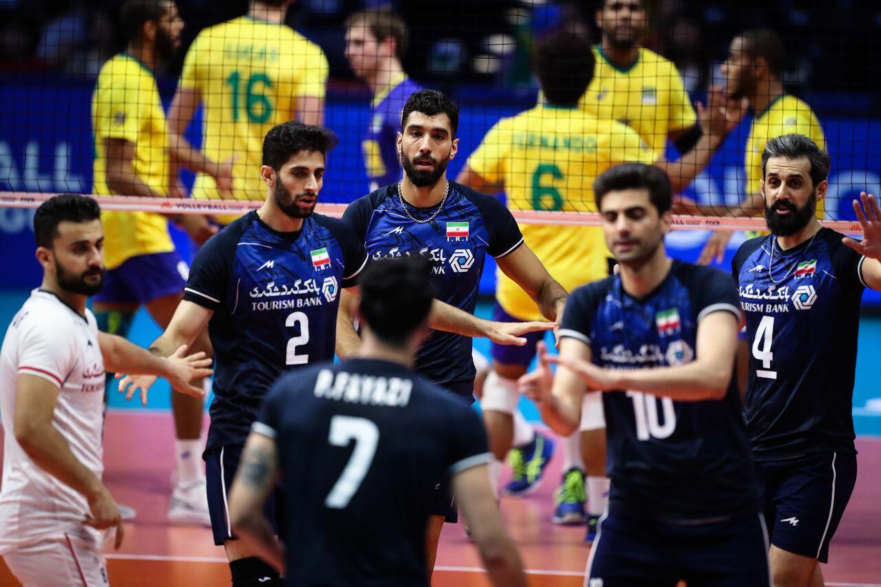 لیگ ملتهای والیبال؛ ایران با برزیل و لهستان همگروه شد