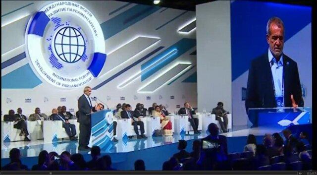 واکنش پزشکیان بهادعای امارات درمورد جزایرسهگانه