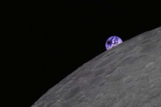 خورشیدگرفتگی را از ماه ببینید