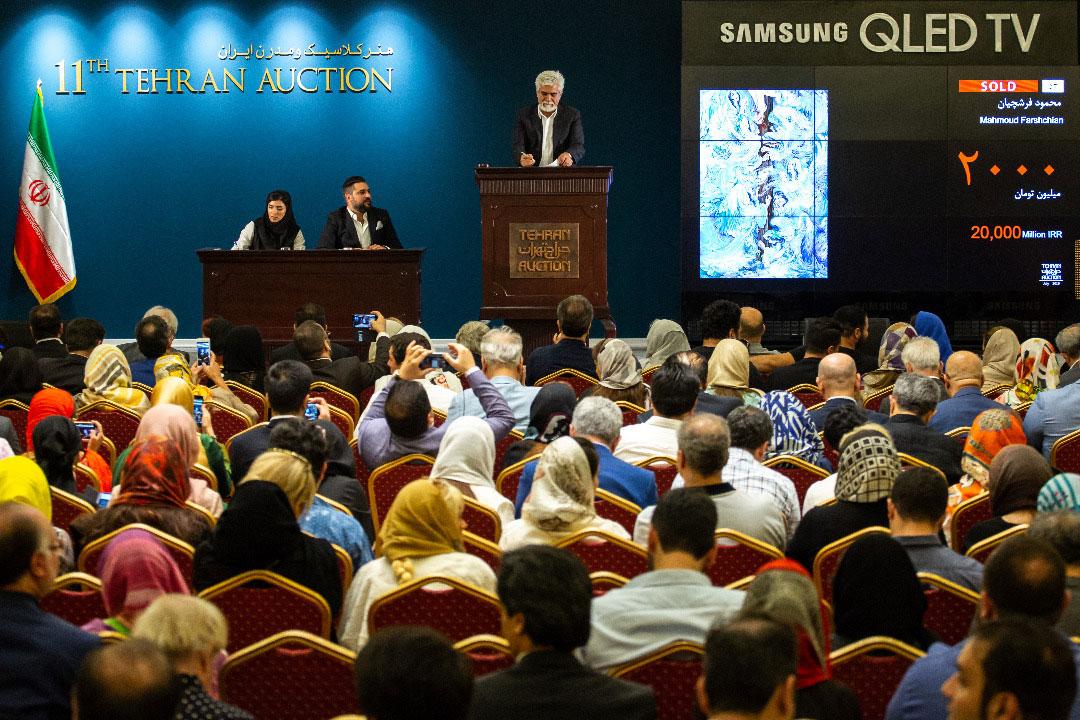 رکوردشکنی بازار هنر ایران با فروش 42 میلیارد حراج تهران