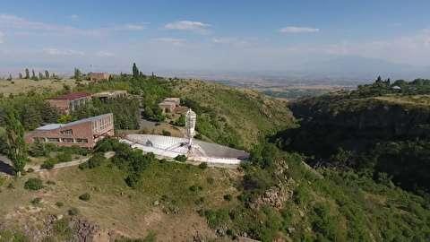 رادیو تلسکوپ سری شوروی در ارمنستان