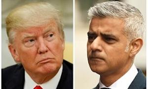 کنایه تحقیرآمیز شهردار لندن به ترامپ