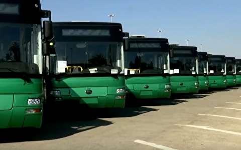 چین یکصد دستگاه اتوبوس به سوریه داد