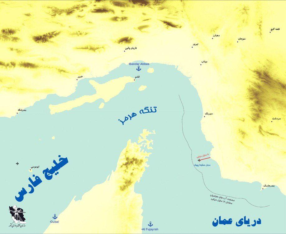 قلمرو دریایی ایران و طمع بی پایان آمریکا