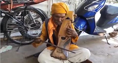 سارنگینوازی در خیابانهای هند