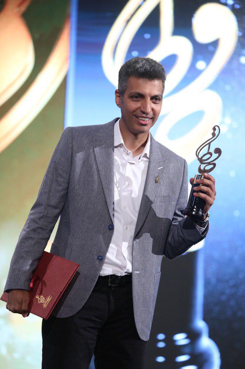 فردوسی پور با رای مردم بهترین چهره تلویزیونی ایران شد