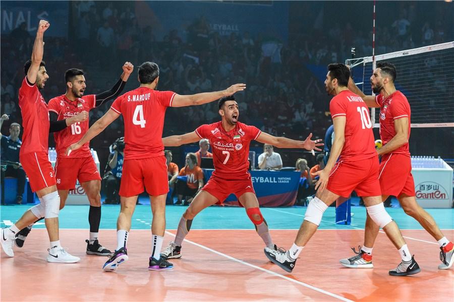 لیگ ملتهای والیبال ۲۰۱۹: ایران پنجم شد