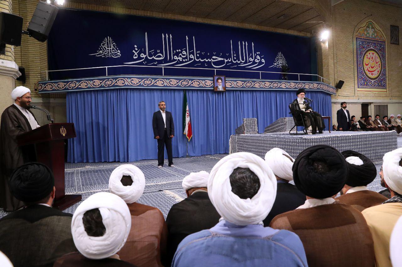 دیدار ائمه جمعه سراسر ایران با مقام معظم رهبری