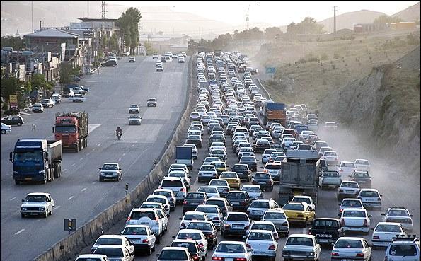 ورودی شرقی تهران قفل شد