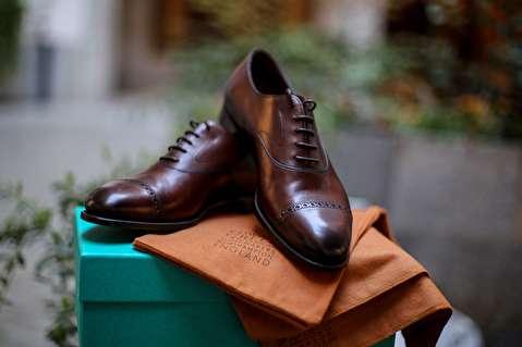 چگونه کفش ادوارد گرین طراحی میشود؟