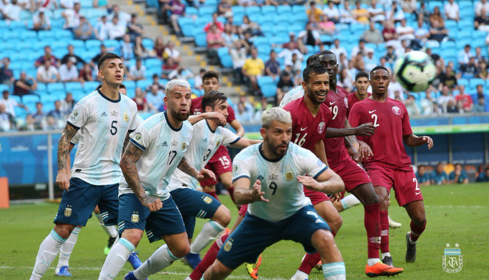 کلمبیای کی روش گل نخورد تا آرژانتین مسی صعودکند