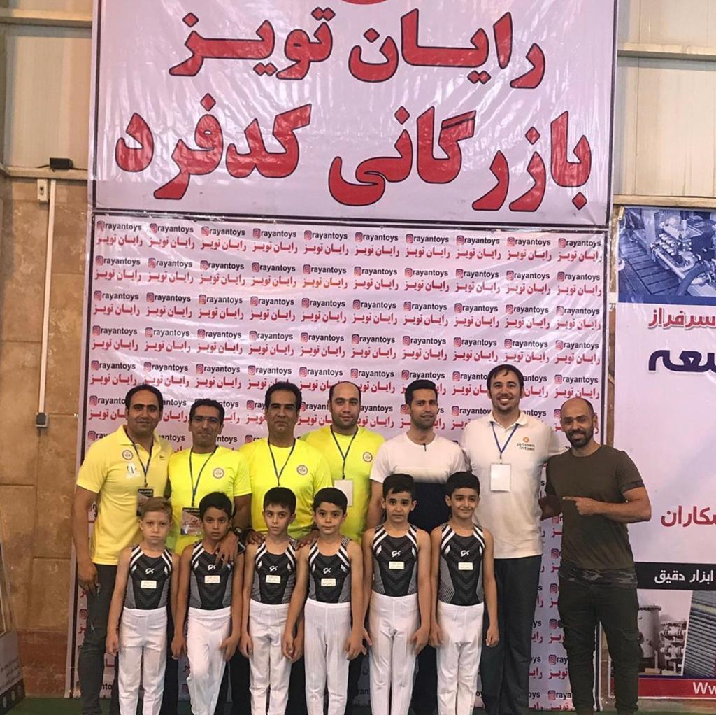 درخشش تیم «سرای ژیمناستیک» در لیگ پسران استان تهران