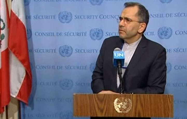 واکنش سفیر ایران در سازمان ملل به تحرک آمریکا