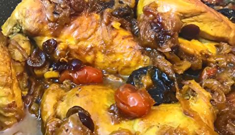 دستور پخت خورش مرغ و آلو