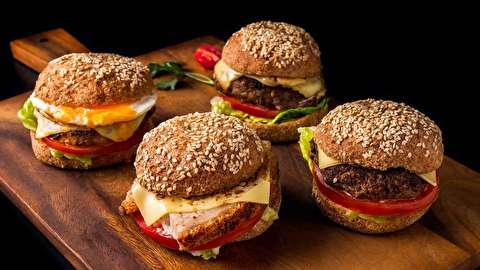 طرز تهیه همبرگر پفکی