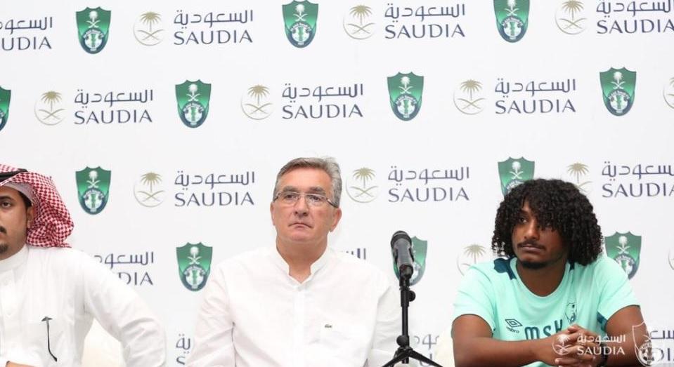 مراسم معارفه برانکو به عنوان سرمربی الاهلی عربستان