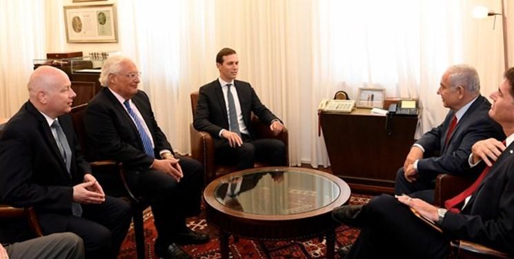 کوشنر با نتانیاهو دیدار کرد