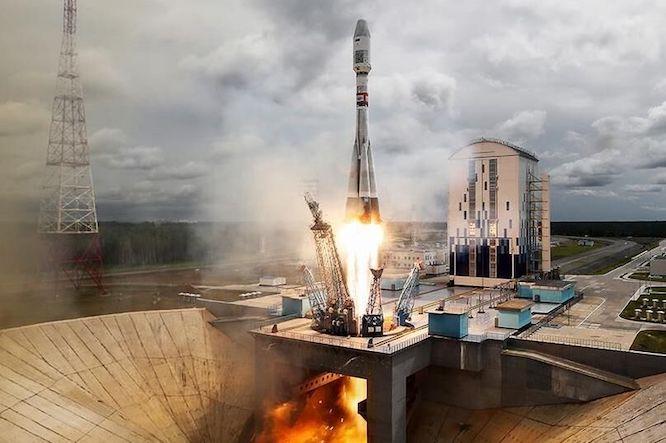 روسیه یک فضاپیمای باری به فضا پرتاب کرد