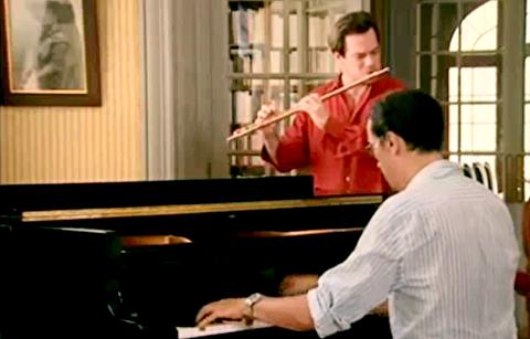 سونات فرانک برای فلوت و پیانو ؛ امانوئل پائود