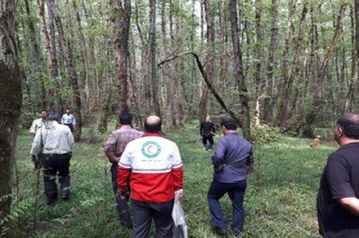 کشف جسد حلق آویزشده یک جوان در جنگل گیسوم