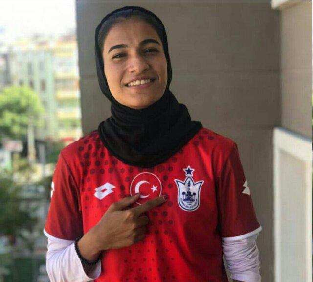 دختر فوتبالیست ۱۸ ساله ایران لژیونر شد
