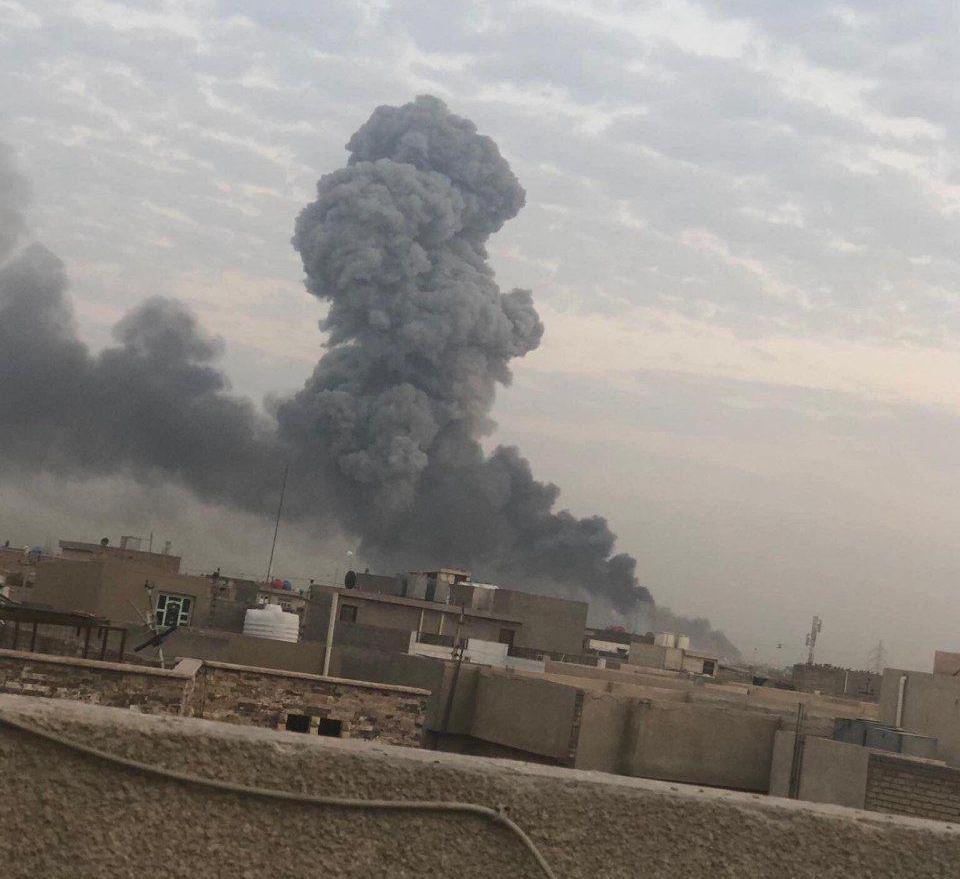 انفجار شدید در جنوب بغداد